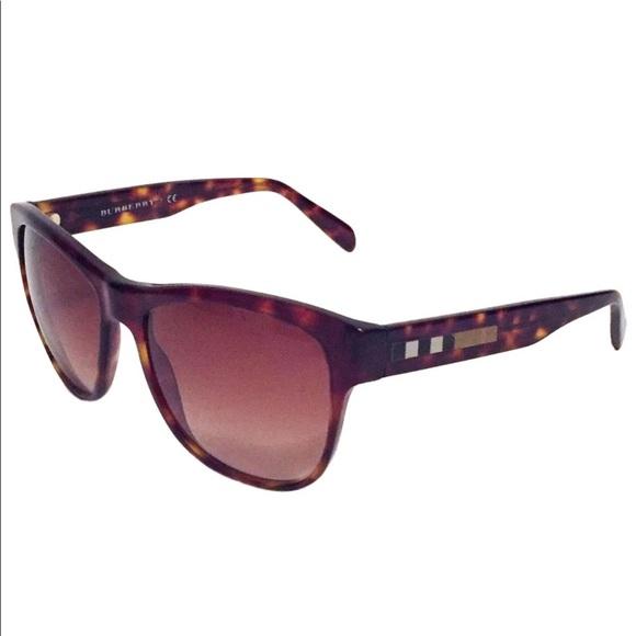 Burberry tortoise nova check 4131 sunglasses